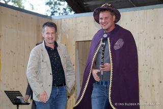 Der alte und der neue Bohnenkönig: Christian Lammer und Georg Taucher