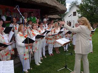 Der Jennersdorfer Gesangverein unter Andrea Werkovits.