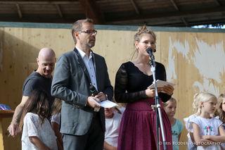 Werner Reisenhofer und Victoria Adelmann moderierten den Abend