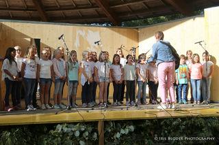 Der Chor der VS St. Ruprecht eröffnete das Fest
