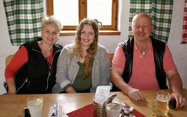 Karin, Claudia und Christian