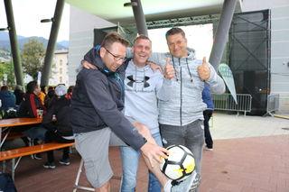 In Bischofshofen wird beim Public Viewing jeder Tag eine kleine WM-Party.