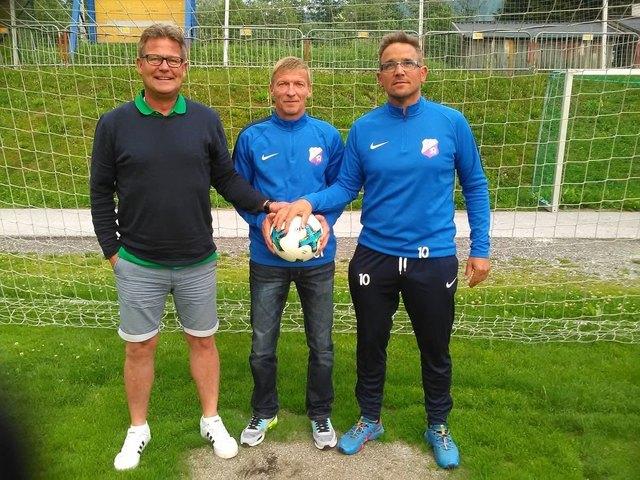 Bernd Ceol, Uwe Deussen und Hans-Peter Dürlinger.