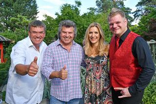 Reinhard Kittenberger, Andy Borg, Stefanie Hertel, Wolfgang Lindner