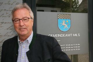 Bgm. Peter Hanser ist auch EU-Gemeinderat für die Gemeinde Mils