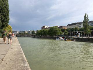 """Naherholung mitten in der City: Die Initiative """"Donaucanale für alle"""" befürchtet den Ausverkauf der Flächen."""