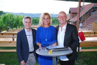 Wolfgang Siller,Ulrike Blei, Harry Schindlegger