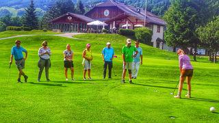 Golfjournalisten lernten die Vorzüge des Lungaus kennen.