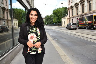 Folgt Martina Malyar nach 15 Jahren nach: Saya Ahmad ist jetzt Bezirksoberhaupt.