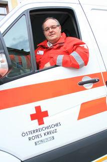 Anton Schilcher ist der Kommandant des Roten Kreuzes im Lungau.