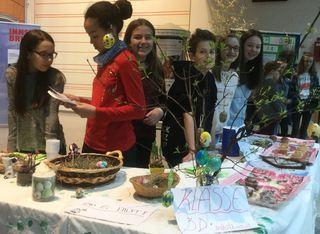 Aktion der BRG-APP-SchülerInnen in den Innsbrucker Rathausgalerien. Foto: BRG APP/Eigelsreiter.