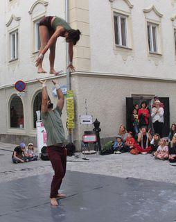 Akrobatik auf höchstem Niveau