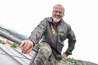 """Max Rossberg aus Tamsweg ist der Gründer der """"European Wilderness Society"""". Diese setzt sich europaweit für Wildnis, Natur und Umwelt ein."""