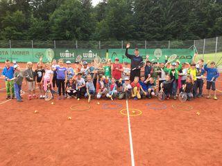Großer Andrang bei den Tenniscamps des TC Mosergütl.