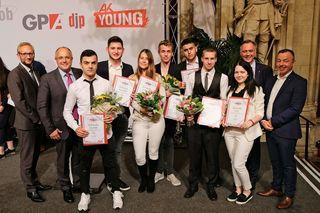 Bei der Landesausscheidung des 66. Berufswettbewerbes nahmen auch die Schüler der Spar-Akademie teil. Für die Stockerl-Plätze wurden Urkunden und Preise im Wiener Rathaus verliehen.