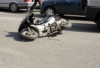 Zu einem Motorradunfall kam es in Oepping.