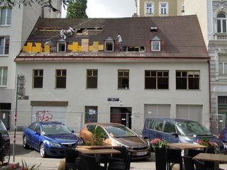 Da stand es noch: Vergangene Woche wurde der Abriss der ehemaligen Bäckerei in der großen Pfarrgasse durchgeführt.