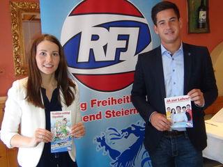 LAbg. Liane Moitzi und der Leibnitzer RFJ-Bezirksobmann Gerhard Hirschmann fordern ein Bekenntnis zur Lehre.