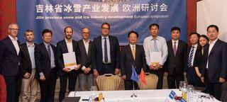 Eine hochrangige Delegation aus der chinesischen Provinz Jilin gastierte in Tirol und traf sich mit Vertretern der Stadt Innsbruck, der Skigebiete Kühtai und Ischgl sowie von TechnoAlpin.