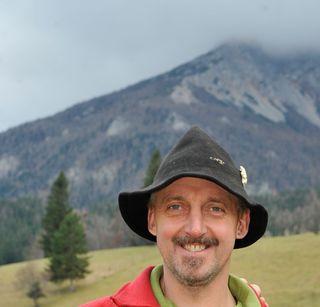 Bergretter Karl Tisch von der Bergrettung Puchberg war zufällig nahe des Unfallorts.