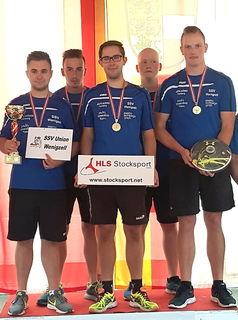 Die jungen Stocksportler des SSV Wenigzell wurden Bundesmeister Ost.