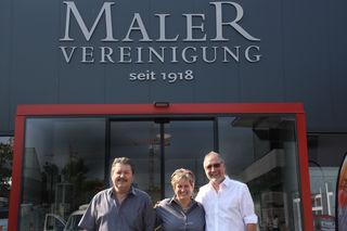 Jubiläumsfreude: Renner, Schwarz-Hösele, Schauer (v.l.)