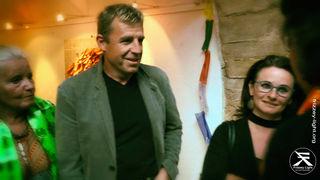 Christian Oppl mit Rosmarie (Mitglied, Sponsor, Unterstützer )