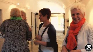 Mathilda, Christine Fink, Christiana Schwemberger. Hochwertige Mitglieder, Unterstützer, . . .  Christiana stellt immer wieder mehrere Kunstwerke für die Ärmsten der Armen zur Verfügung.