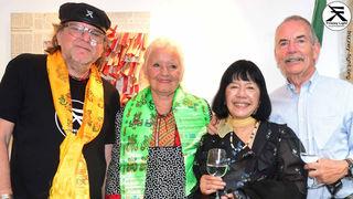 Dr. Wolfgang Ruso & Carmelita – Exchef von Naxos  – eines der größten Musik - Labels der Welt  – kommt extra aus München, Langjährige Freundschaft.