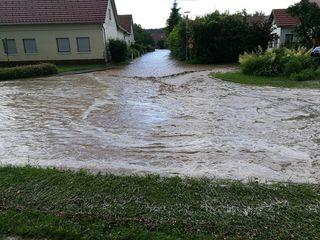 So wie Mogersdorf waren viele Gemeinden von den schweren Unwettern betroffen.