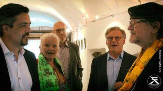 Josef Gunsch (Mitglied), Christine Jarosch und Hans Seifert (Mitglied, Unterstützer).