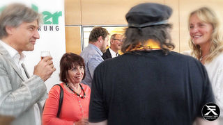 Manfred & Karin Kühbacher (Hotel) mit Helga Wriesnig kamen vom Außerfern.