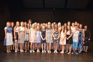 Im Mittelpunkt des Festaktes anlässlich des Schulfestes der NMS Gerlitz Hartberg stand die Ehrung der Schüler mit ausgezeichnetem Erfolg.