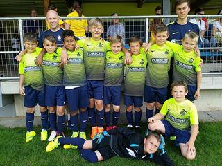 Die Fußballer der VS St. Stefan holten sich den Bezirksfußballcup in Hollenegg.