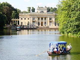 Das Wasserschloss im  Łazienki Park