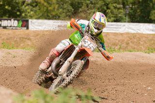 Pascal Krieger lieferte in Tirol eine tolle Performance auf seinem Motorrad ab.