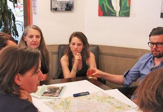 Beim BürgerInnenrat unterhielten sich die Citybewohner über Probleme und arbeiteten an Lösungen.