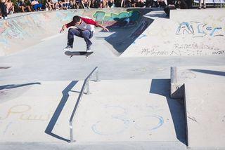 Spektakulär: Skateboardsport auf Topniveau am Grünanger