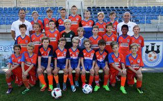 Die U11 des FC Klosterneuburg holte sich in der JHG Nord-West-Mitte den Vizemeistertitel.
