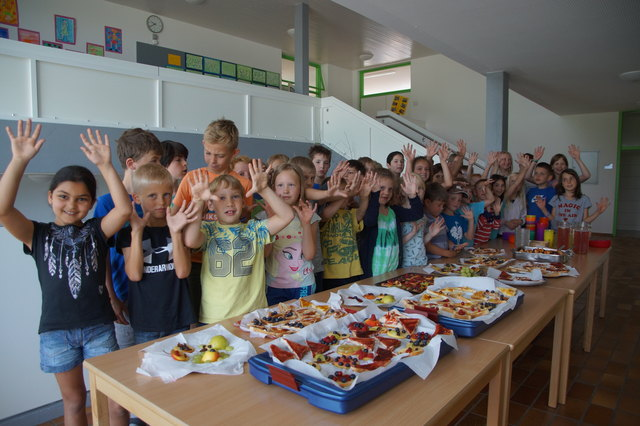 Die Schüler lernten den Naturpark spielerisch kennen.