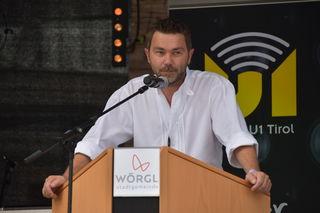 Vize-Bgm Mario Wiechenthaler bedankte sich bei der Wörgler Stadtfest Steuerungsgruppe und dem Stadtmarketing.
