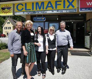 V.l.: Erich Fuchs, Ulla Sebach, Manueal Zisler, Margareta und Andreas Zisler.