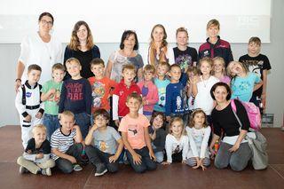 Ziel des Projektes war es, Kinder und Jugendliche für Naturwissenschaften und Technik zu begeistern.