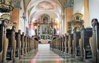 Die Stadtpfarrkirche ''St. Martin'' in Grieskirchen