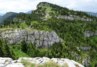 Der hochalpine Gipfelbereich