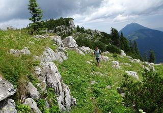 Übergang zum Scheiblingstein-Gipfel