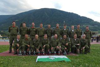 Die Feuerwehr-Bewerbsgruppen konnten das begehrte Leistungsabzeichen aus Südtirol entgegennehmen.