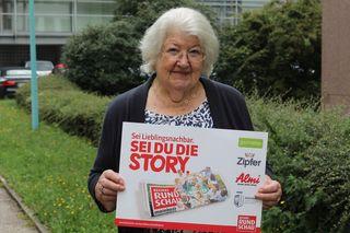 Anna Reifenauer freute sich über den Gewinn.