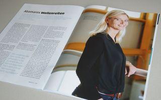 Physikerin Edda Gschwendtner arbeitet am AWAKE-Projekt, das Teilchen zu noch höheren Energien beschleunigen soll.
