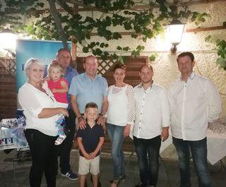 Foto vl: Martina Lebisch, Ök. Rat Franz Wagnes, LAbg. Erich Hafner, Petra Ackhofer, GR Philipp Lebisch, GR Thomas Wagner
